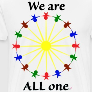 We are ALL One - Men's Premium T-Shirt