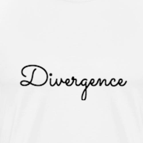 Divergence Merchandise Edition 4b Black - Men's Premium T-Shirt