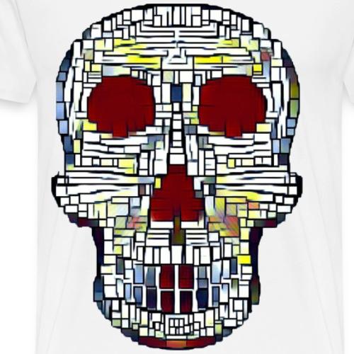 Skull Kube - Men's Premium T-Shirt