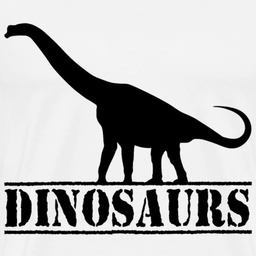 dinosaurs brachiosaurus - Men's Premium T-Shirt
