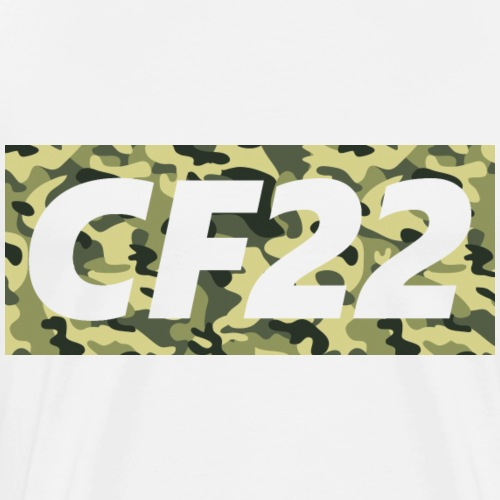 CF22 Box Logo Camo - Men's Premium T-Shirt