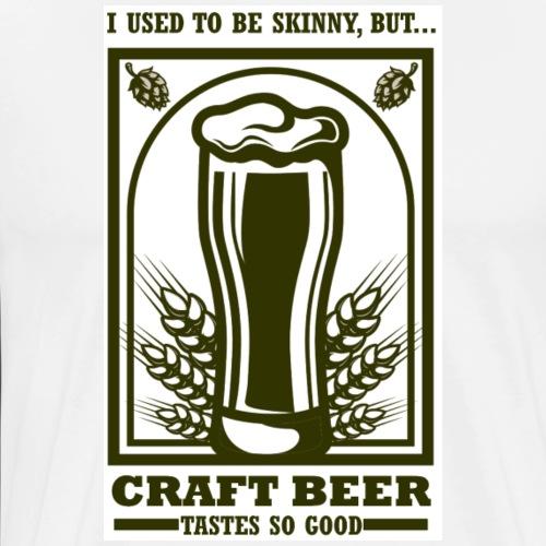 I used to be skinny... - Men's Premium T-Shirt