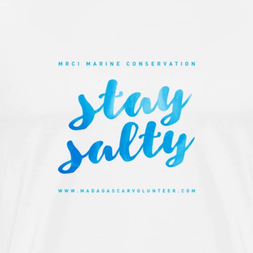 Stay Salty Blue - Men's Premium T-Shirt