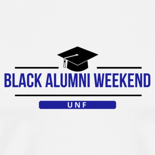Black Alumni Weekend- Black - Men's Premium T-Shirt