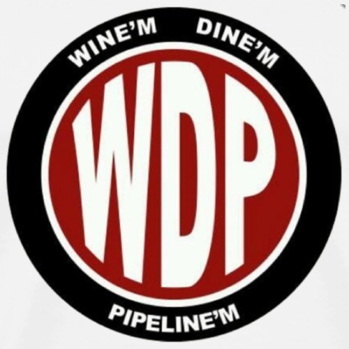 Wine'm Dine'm Pipeline'm WDP - Men's Premium T-Shirt