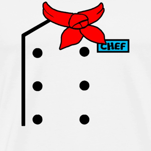 Chef Uniform - Men's Premium T-Shirt