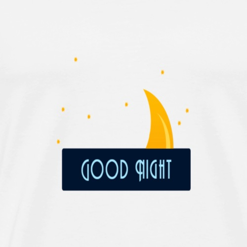 good night - Men's Premium T-Shirt