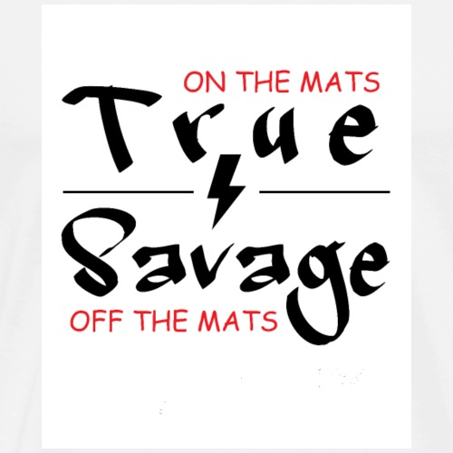 True Savage Jiu-Jitsu Top - Men's Premium T-Shirt