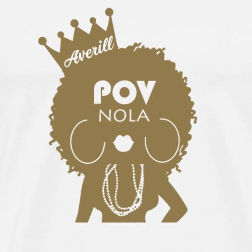 Averill Personalized Gold - Men's Premium T-Shirt