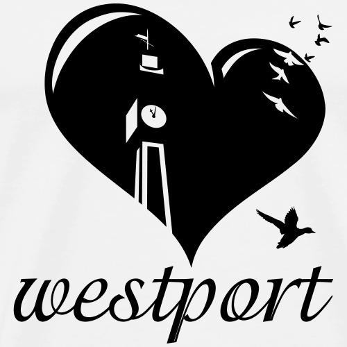 Love Westport - Men's Premium T-Shirt