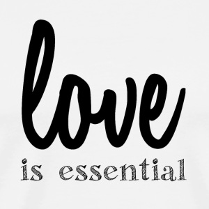 Love is Essential - Men's Premium T-Shirt