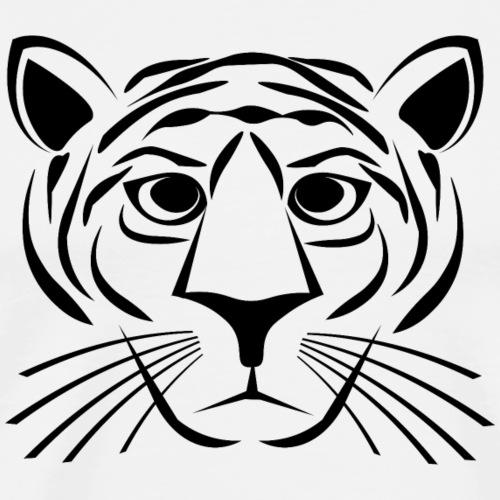 Tiger - Black - Men's Premium T-Shirt