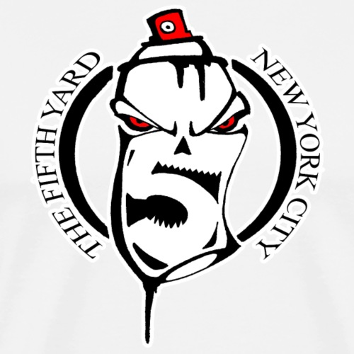 SKULL SPRAY - Men's Premium T-Shirt