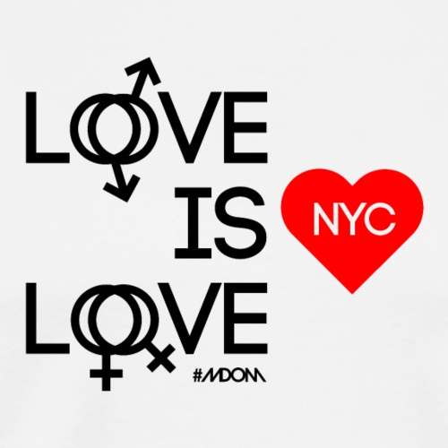 Love is Love NYC - Men's Premium T-Shirt