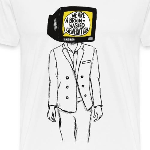 We are a brainwashed generation - Men's Premium T-Shirt