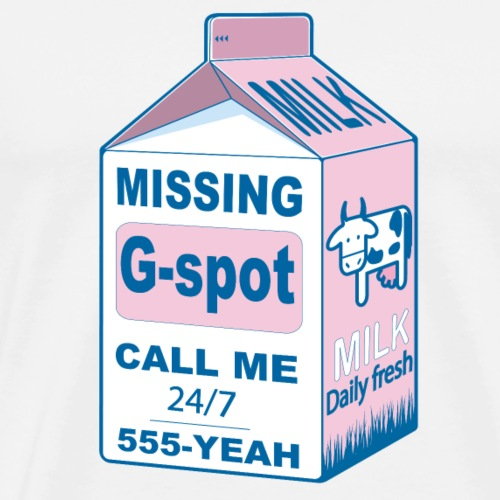 Missing G-Spot - Men's Premium T-Shirt