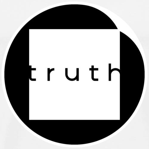 Truth in White and Black - Men's Premium T-Shirt