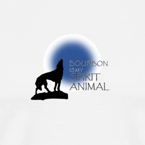 Bourbon is my spirit animal - Men's Premium T-Shirt