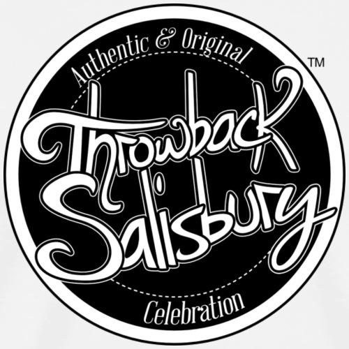 Throwback Salisbury b/w - Men's Premium T-Shirt
