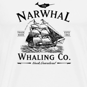 The Narwhal Whaling Company - Men's Premium T-Shirt