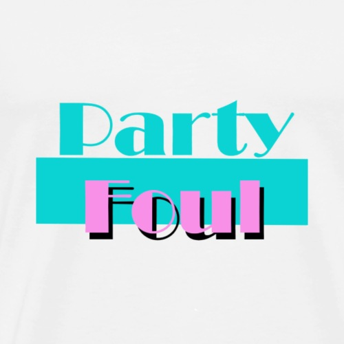 Party Foul - Men's Premium T-Shirt