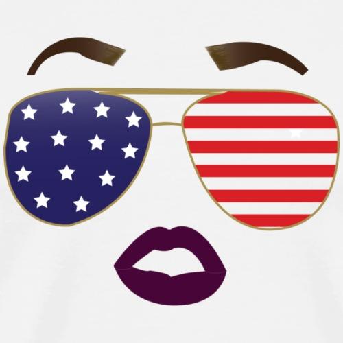 Dark Lips Diva 4th of July - Men's Premium T-Shirt