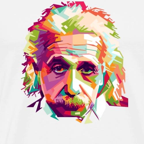 Einstein Design - Men's Premium T-Shirt