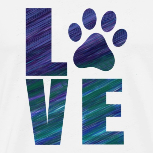 I Love My Pet - Men's Premium T-Shirt