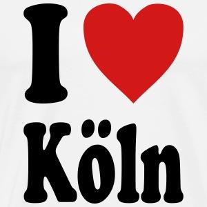 I love Koeln (variable colors!) - Men's Premium T-Shirt