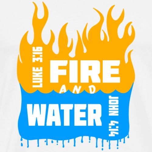 Fire and Water - Men's Premium T-Shirt
