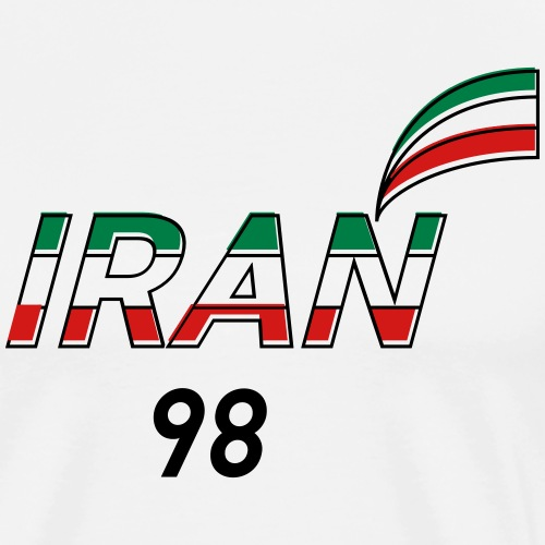 Iran's France 98 20th Anniversary Tee - Men's Premium T-Shirt