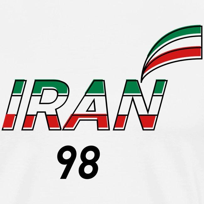 Iran's France 98 20th Anniversary Tee