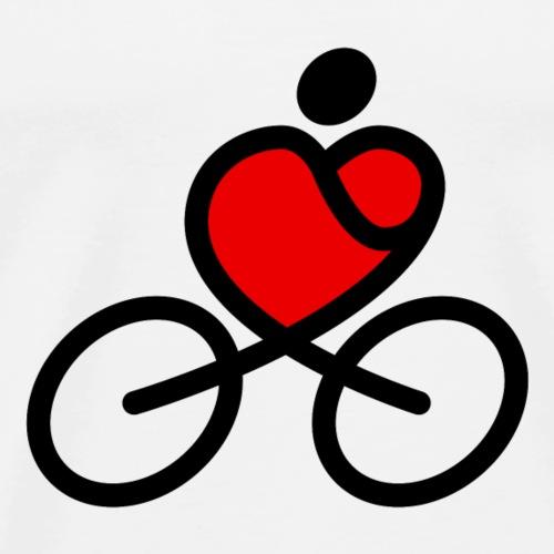 Love Cycling - Men's Premium T-Shirt