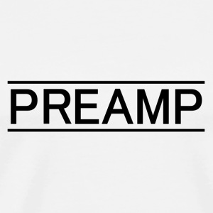 preamp black - Men's Premium T-Shirt