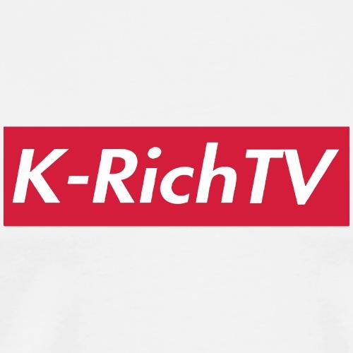 K-Rich Tv Box Logo - Men's Premium T-Shirt