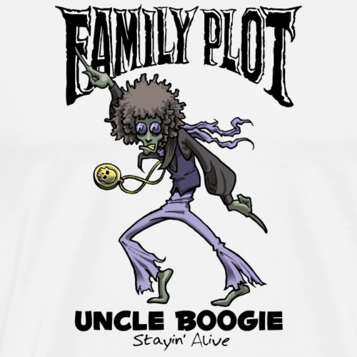 Uncle Boogie - Family Plot - Men's Premium T-Shirt