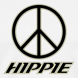 black hippie - Men's Premium T-Shirt