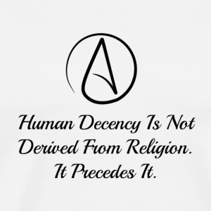 Human Decdncy - Men's Premium T-Shirt