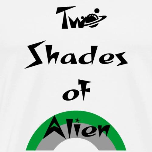 Two shades of alien - Men's Premium T-Shirt