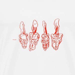Morchella / fungi / mushrooms - Men's Premium T-Shirt