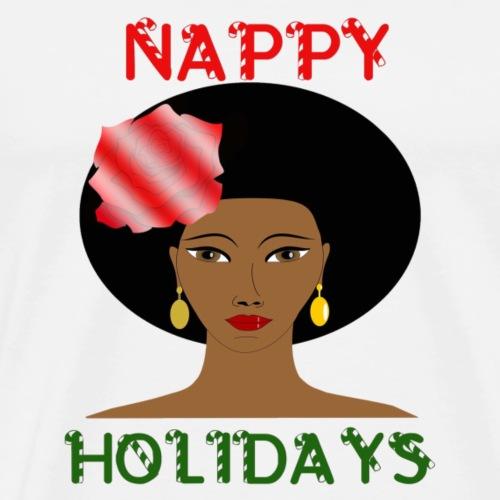 Nappy Holidays Fro - Men's Premium T-Shirt
