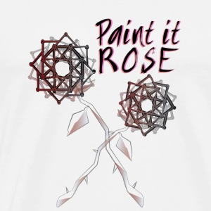 Paint it Rose - Men's Premium T-Shirt