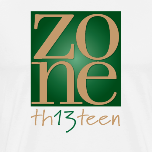 Green th13teen - Men's Premium T-Shirt