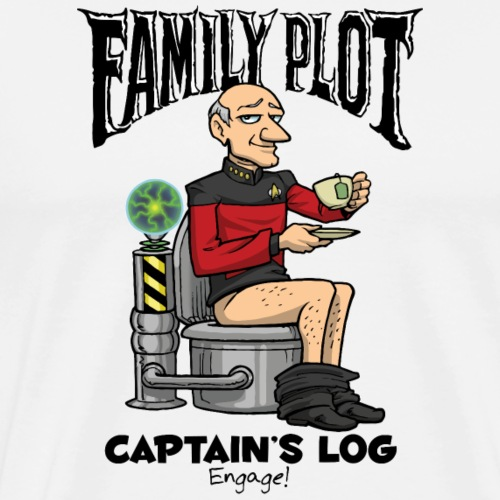 Captain's Log - Family Plot - Men's Premium T-Shirt