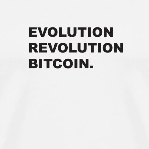 Bitcoin Revolution - Men's Premium T-Shirt