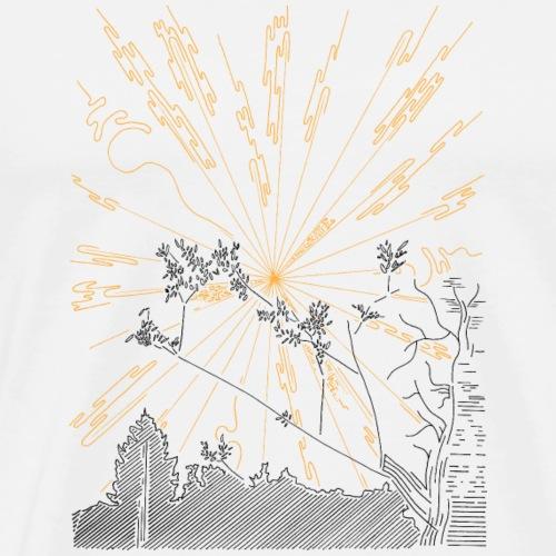 Bright Rays - Men's Premium T-Shirt