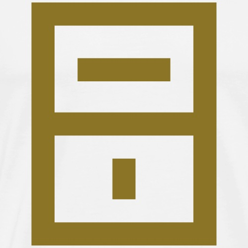 ExtraMoist Squared Emblem - Men's Premium T-Shirt
