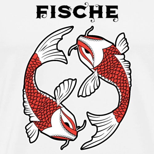 Sternzeichen - Fische - Men's Premium T-Shirt