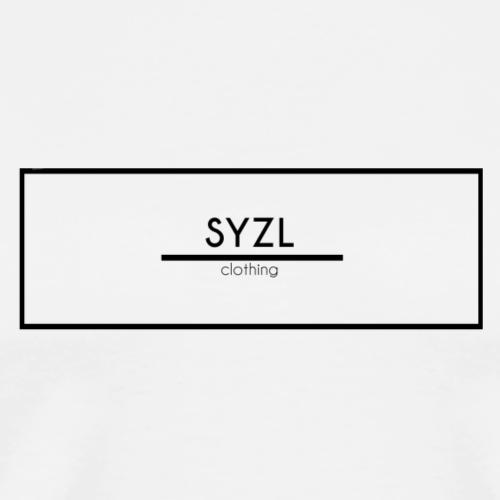 SYZL Transparent Black Logo - Men's Premium T-Shirt