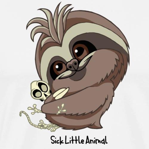 Sick Little Sloth - Men's Premium T-Shirt
